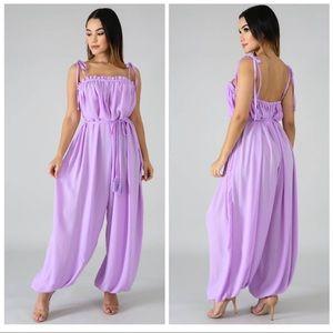 Gorgeous Lavender Jumpsuit!